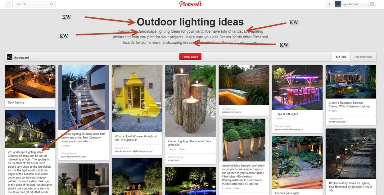 Pinterest Boards In Bing Results and How You Can Improve Your Pinterest SEO