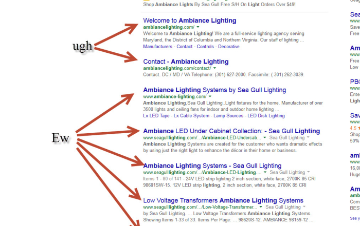 Google Algorithm Update: Multiple Instances of the Same URL (is this 2007 or…?)